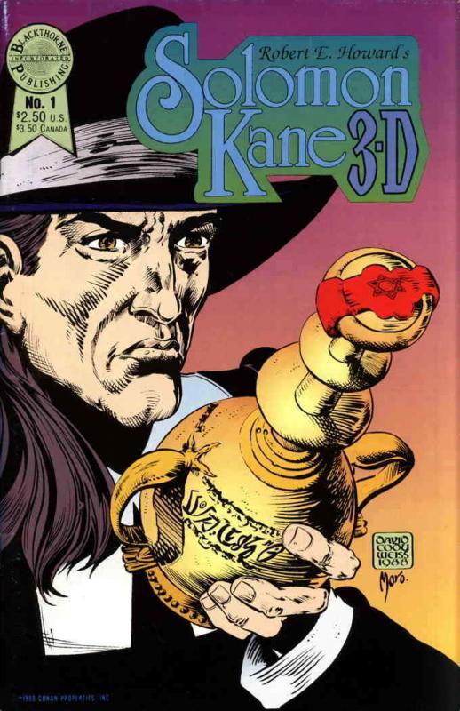 Solomon Kane in 3-D #1 FN; Blackthorne | save on shipping - details inside
