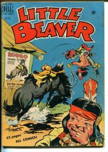 Little Beaver Four Color Comics #267-1950-Dell-Fred Harmon-Indian stories-VG
