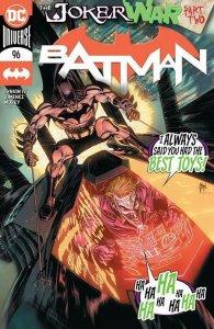 BATMAN #96 JOKER WAR Tony Daniel Main Cover DC NM 1st APPEARANCE CLOWN HUNTER