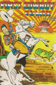 First Cowboy Comix #1 VF; Andor | save on shipping - details inside