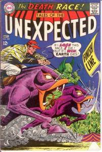 UNEXPECTED (TALES OF) 102 VG+    September 1967 COMICS BOOK