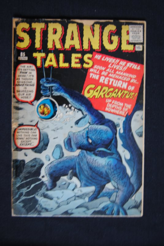 Strange Tales #85 Early Jack Kirby, Stan Lee