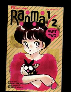 Lot of 12 Ranma Comic Books 1/2 #1 2 3 5 6 + Ranma Part 2 #1 3 4 5 6 7 8 JF20
