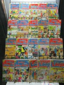 Archie Comics Reader's Lot of 23Diff Feat: Jokes Jughead Laugh Pep
