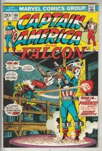 Captain America #168 (Dec-73) NM- High-Grade Captain America