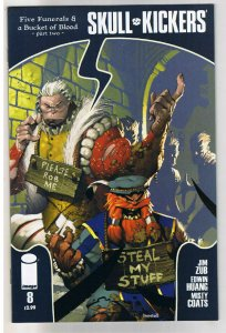 SKULL KICKERS #8, VF+, Jim Zubkavich, Dwarf, Thieves, 1st, 2010,more in r store