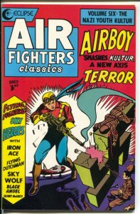 Air Fighters Classics #3 1988-Eclipse-Golden Age comic reprint-Airboy-Skt Wolf-V