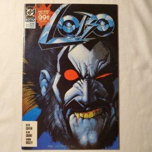 Lobo 1  Near Mint  Cover by Simon Bisley