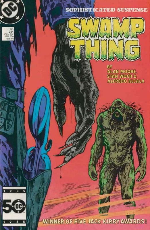 Saga of the Swamp Thing, The #45 VF/NM; DC | save on shipping - details inside
