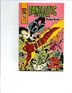 Marvel Digest Series #26 - Pocket Book -Fantastic Four -British 25p -1982 -VF/NM