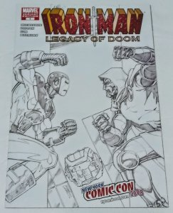 Iron Man Legacy of Doom #1 (VF/NM) 2008 NY ComiCon Variant ID14H