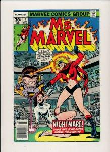 Marvel 1977 Ms. MARVEL #7 MODOK  FINE- (PF904)