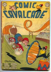 Comic Cavalcade #35 1949-FOX AND CROW-FUNNY ANIMAL-very good VG