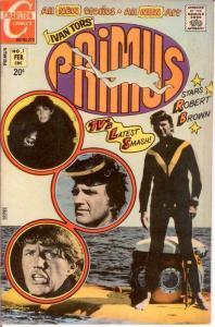 PRIMUS 1 F-VF February 1972 COMICS BOOK