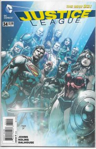 Justice League   vol. 2   # 34 FN (Injustice League ep.) Luthor, Shazam