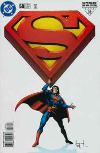 Superman: The Man of Steel #58 FN; DC   save on shipping - details inside