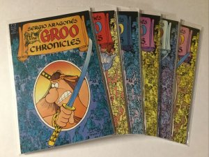 Groo Chronicles 1-6 1 2 3 4 5 6 Lot Set Run Nm Near Mint Epic Comics