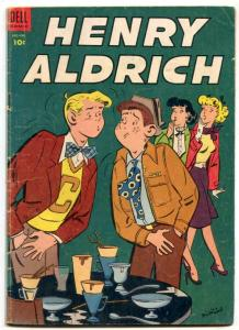 Henry Aldrich #19 1954- dell golden age comic VG-