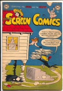 Real Screen 45 1951-DC-Fox & Crow-prank cover-racial innuendo-VG