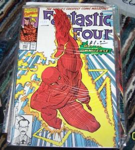 FANTASTIC FOUR #353  1991 Marvel   TIME AUTHORITY HUMAN TORCH THING