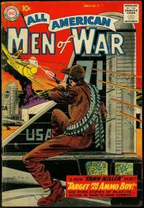 ALL-AMERICAN MEN OF WAR #71 1959-DRUCKER-KUBERT-HEATH  VG-