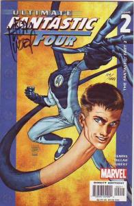Fantastic Four, Ultimate Signed #2 (Mar-07) MT Super-High-Grade Fantastic Fou...