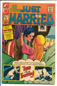 Just Married #98 1973-Charlton-puzzle page-Love Is Trusting-VG