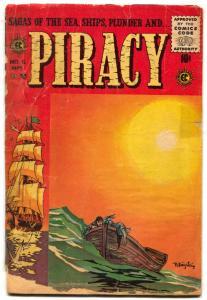 Piracy #26 1955-EC Comics- Krigstein cover reading copy