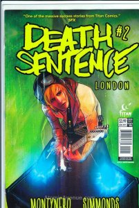 Death Sentence London #2A VF/NM; Titan | save on shipping - details inside