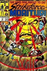 Strikeforce: Morituri #18 VF/NM; Marvel | save on shipping - details inside