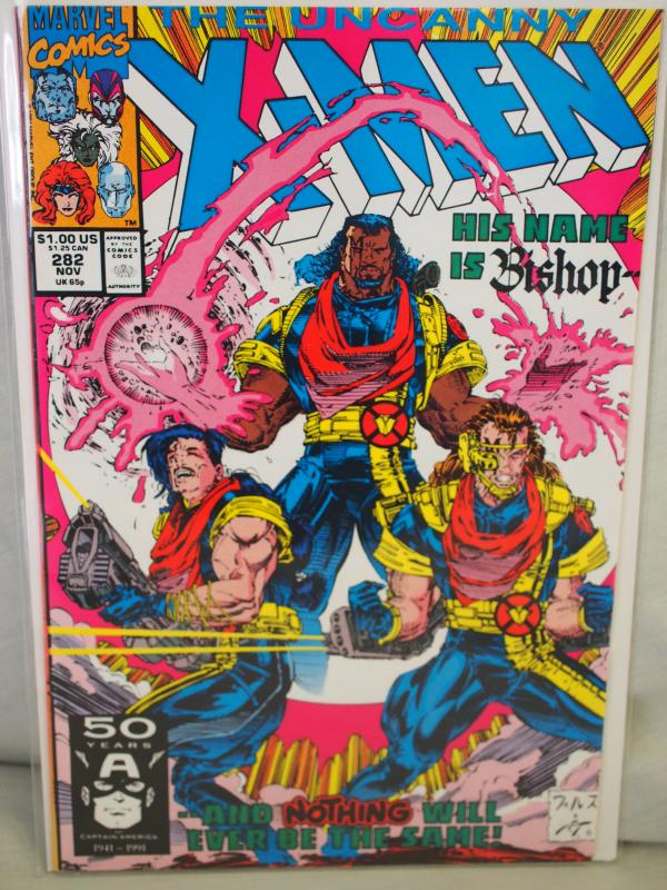The Uncanny X-Men 282/283  VF/NM  condition.  Unread. 1994 . 1st and 2nd Bishop