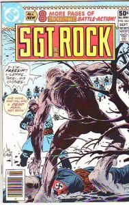 Sgt. Rock #344 (Sep-80) NM- High-Grade Sgt. Rock