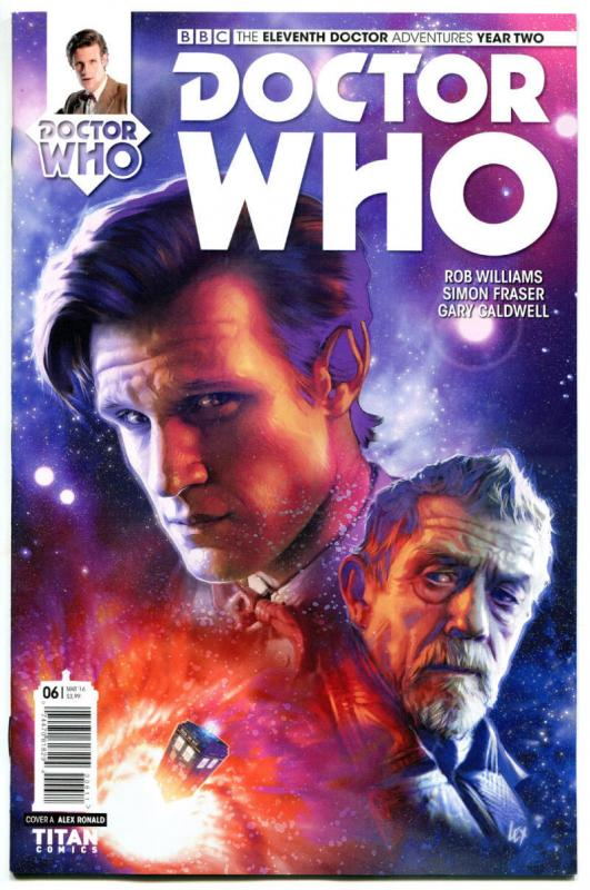 DOCTOR WHO #6 A, NM, 11th, Tardis, 2015, Titan, 1st, more DW in store, Sci-fi
