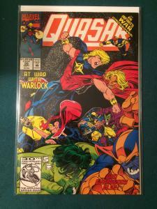 Quasar #38 Infinity War Crossover