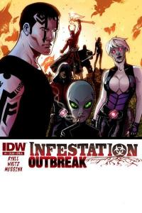 Infestation: Outbreak #1, NM- (Stock photo)