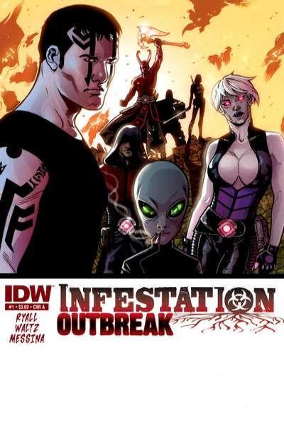 Infestation: Outbreak #1, NM- (Stock photo)
