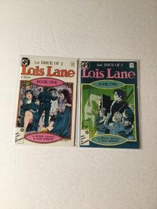 Lois Lane 1-2 Book One And Two Complete Series Nm Near Min Ik