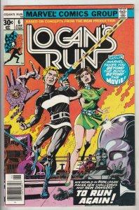 Logan's Run #6 (Jun-77) VF/NM High-Grade Logan