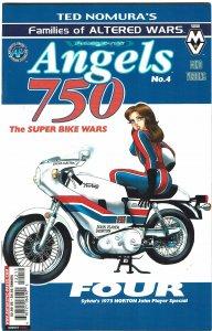 Angels 750 #4 Ted Nomura, Antarctic Press NM+