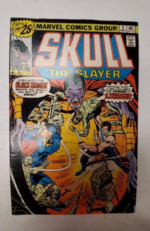 Skull the Slayer #5 (1976) NM Marvel Comic Book J667