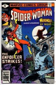 SPIDER-WOMAN #19 VF+, Werewolf Enforcer, 1978 1979, Carmine Infantino