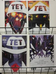 TET (2015 IDW) 1A-3A,4B  Allor & Tucker  COMPLETE!