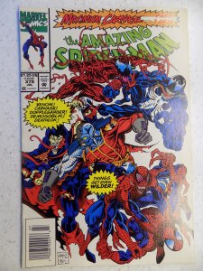 AMAZING SPIDER-MAN # 379 VENOM MAXIMUM CARNAGE