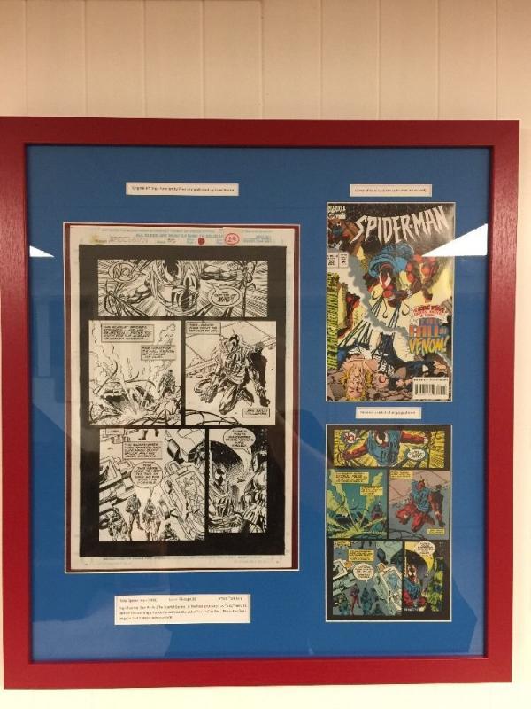 Spider-man 53 Original Art Page 28 (29) Tom Lyle Scarlet Spider Defeats Venom!