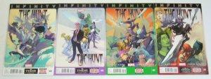 Infinity: the Hunt #1-4 VF/NM complete series - matt kindt - wolverine she-hulk