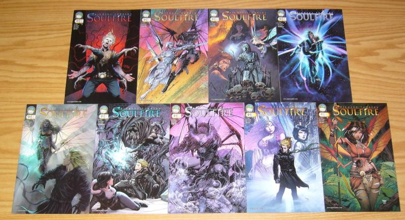 Michael Turner's Soulfire vol. 3 #0 & 1-8 VF/NM complete series - aspen comics A