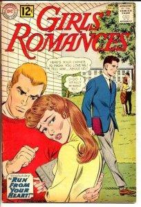 GIRLS' ROMANCES #88-DC ROMANCE VG
