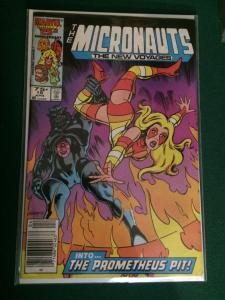 The Micronauts : The New Voyages #19