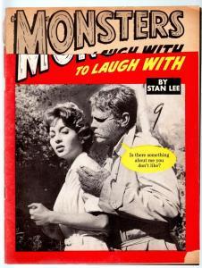 MONSTERS TO LAUGH WITH #2-STAN LEE-MARVEL COMICS-MONSTER MAGAZINE1964-G-RAR G