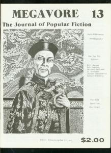 MEGAVORE #13-1981-FU MANCHU-JACK WILLIAMSON-SPIDER PULP VF